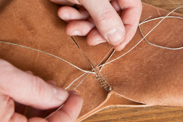 Historical footwear and crafting reproduction shoes