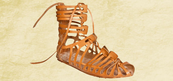 What Shoes Would A Roman Soldier Wear